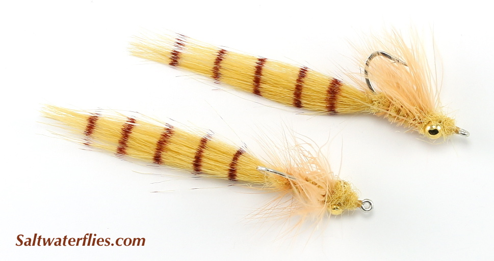 Bristle Worm Tan/Gold Eye