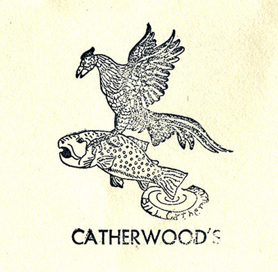 Catherwood's Stamp found on the packaging for this fly