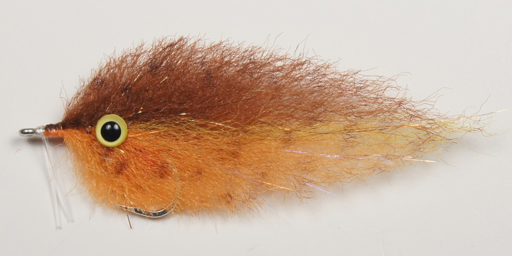 Enrico's Backcountry Baitfish Brown&Orange #2/0