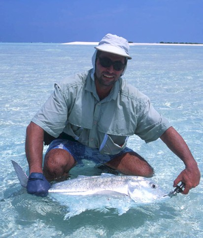 Raffaele Mascaro in the Maldive Islands.