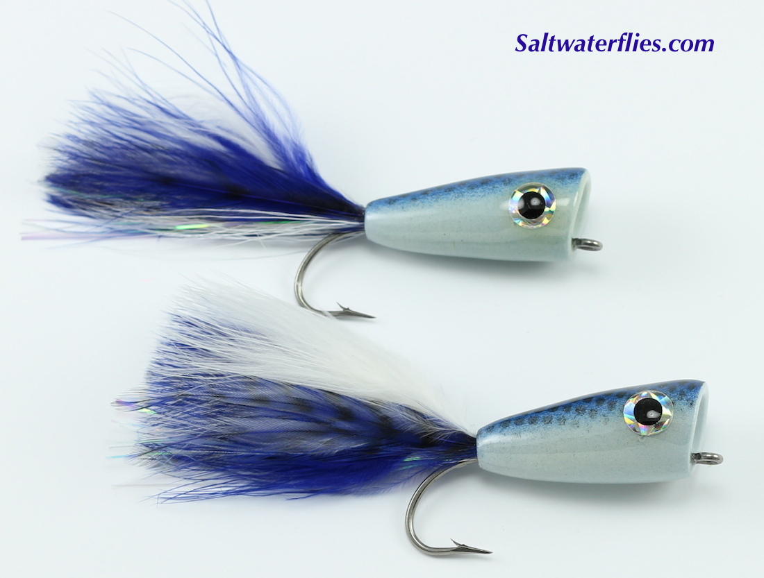 Rainy's Inshore Popper Blue & White